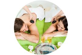 """Percorso benessere + un favoloso massaggio di coppia """" Formula Esclusive """", 3 ore di piacevoli emozioni per due persone"""
